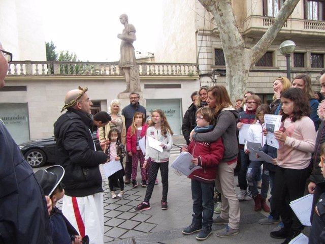 La Dirección General de Cultura repetirá la ruta familiar por la Palma Romana el próximo 4 de marzo