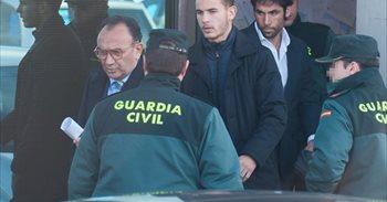 Condenados el futbolista Lucas Hernández y su expareja a 31 días de...