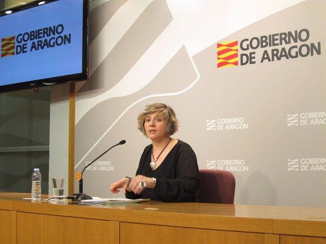 La directora general de Vivienda del Gobierno de Aragón, Mayte Andreu