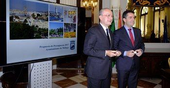 El presupuesto del Ayuntamiento de Málaga para 2017 asciende a 749...