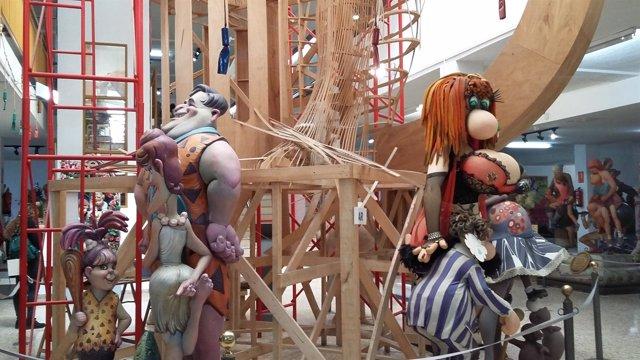 Imagen del Museo del Artista Fallero de València, en Ciudad Fallera