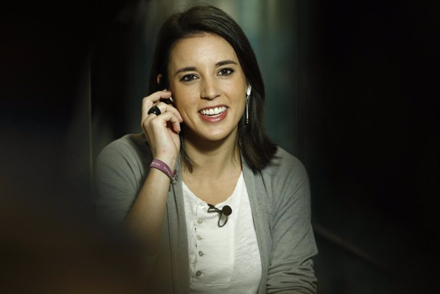 Irene Montero en el Congreso