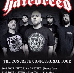 Hatebreed, al juny a Vitòria, Madrid i Barcelona (HFMN)