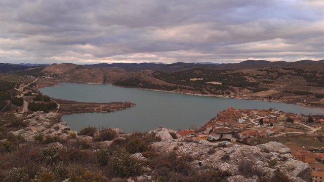 Uno de los embalses de la Cuenca del Ebro.