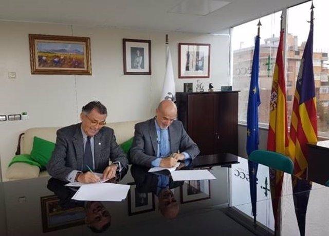 AECC e IVI Mallorca firman un convenio de colaboración