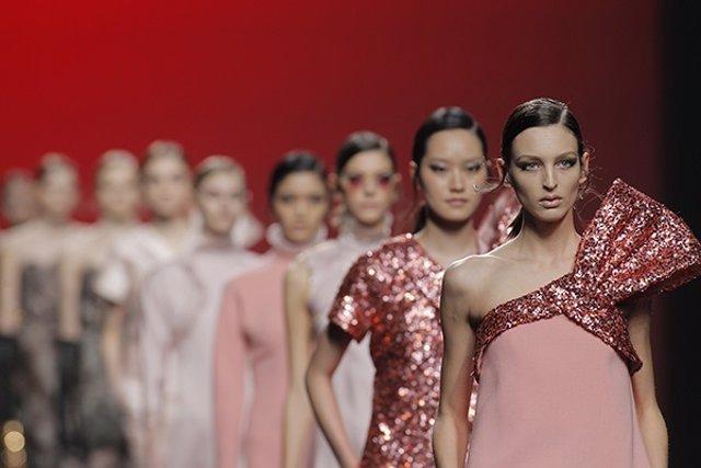 Desfile en la Mercedes-Benz Fashion Week