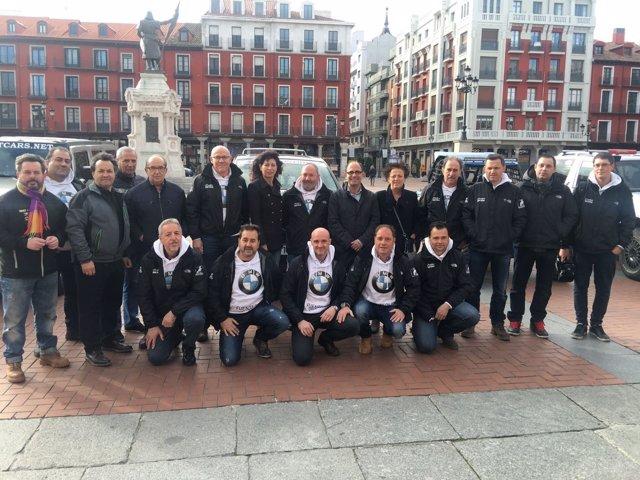 Valladolid. Foto de familia de la prueba