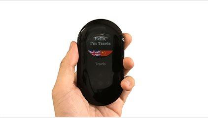Travis llega al MWC: un traductor universal y simultáneo que cabe en el bolsillo