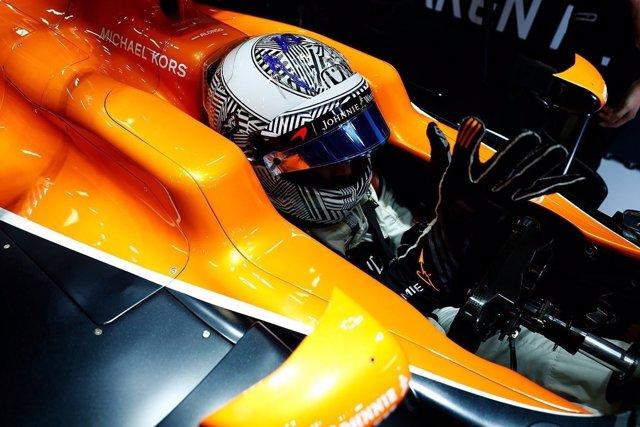 Fernando Alonso test Montmeló Circuit Barcelona-Catalunya