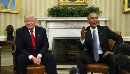 Trump afirma que Obama estaría detrás de las filtraciones en su Administración y las protestas