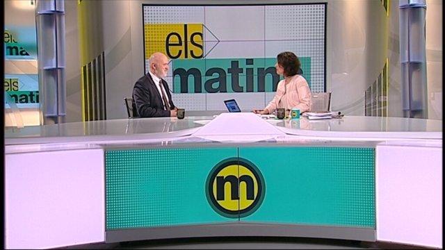 El director del Palau de la Música, Joan Oller, en TV3