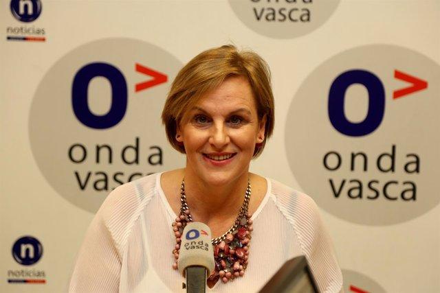 Itxaso Atutxa, presidenta del PNV en Bizkaia