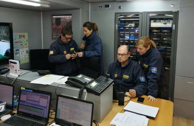 Centro de mando avanzado para emergencias del Govern
