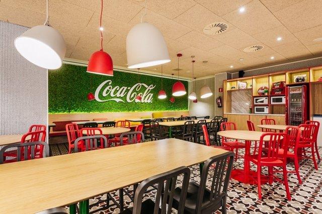 Coca cola inaugura sus nuevas oficinas en espa a que for Oficinas de iberia en madrid