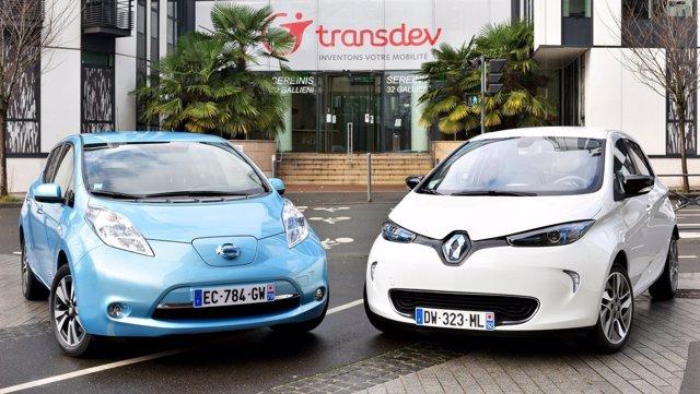 Vehículos eléctricos de Nissan