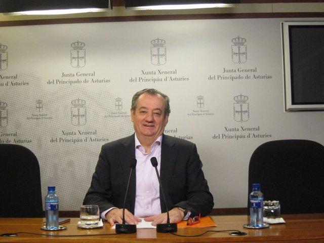 El portavoz de Ciudadanos en la Junta General, Nicanor García.