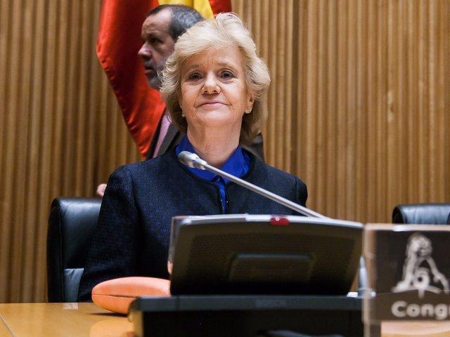 Soledad Becerril, Defensora del Pueblo, en el Congreso