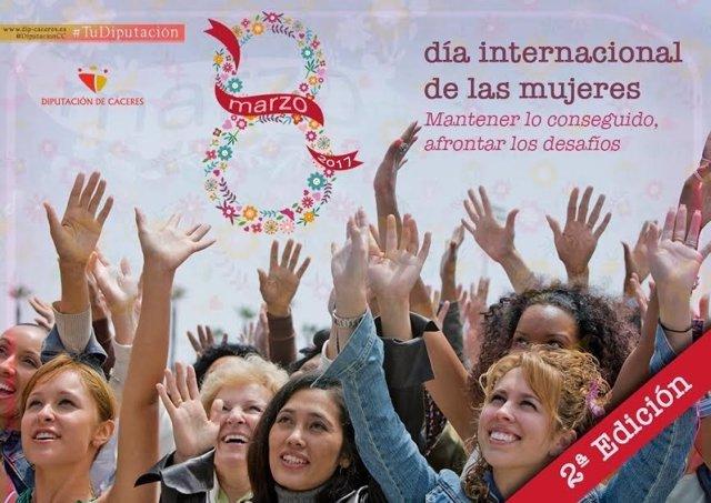 Campaña de la Diputación de Cáceres del 8 de marzo