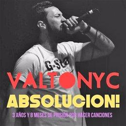 Imagen de defensa del rapero mallorquín Valtonyc
