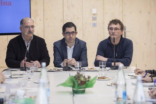 Pedro Subijana, Joxe Mari Aizega, Andoni Luis Aduriz