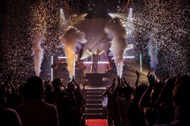 El espectáculo 'Music Has No Limits'