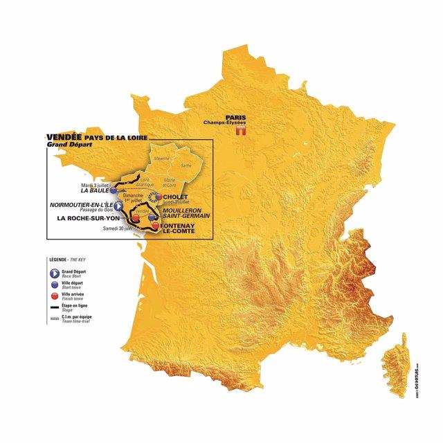 Salida del Tour de Francia de 2018