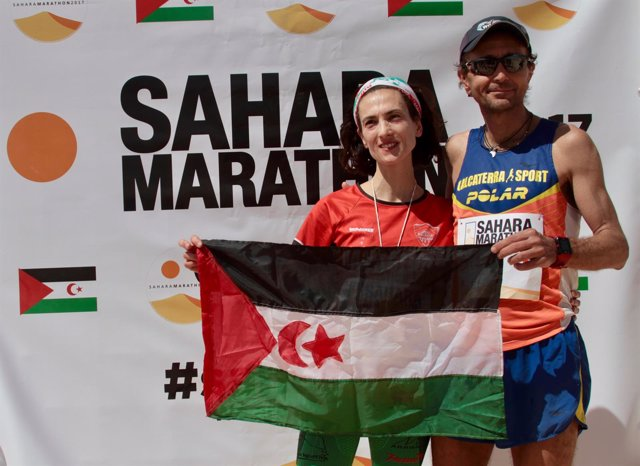 Frechilla y Calcaterra, ganadores del Sahara Marathon