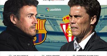 Horario y dónde ver el Barcelona – Sporting de Gijón | Liga Santander