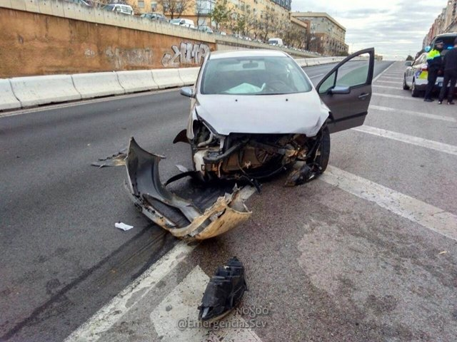 Accidente coche