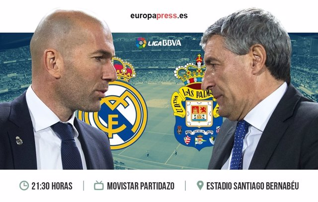 Horario y d nde ver el real madrid las palmas liga for Horario bancos madrid