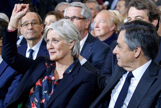 François y Penelope Fillon