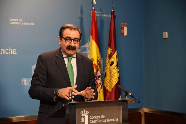 Fernández en las Cortes