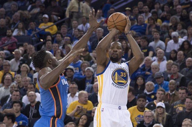 Kevin Durant en el Warriors - Thunder