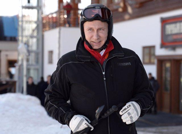 El presidente de Rusia, Vladimir Putin, inicia las inspecciones a Sochi 2014