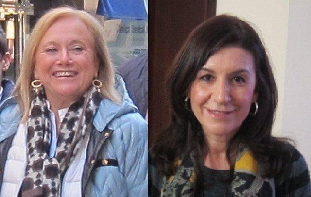 Las candidatas a liderar el PP de Asturias, Mercedes Fernández y Carmen Maniega