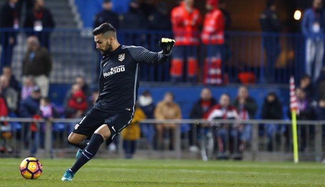 Moyá en el Atlético de Madrid - Real Betis