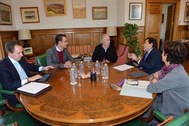 Reunión de la ONC y el MAPAMA