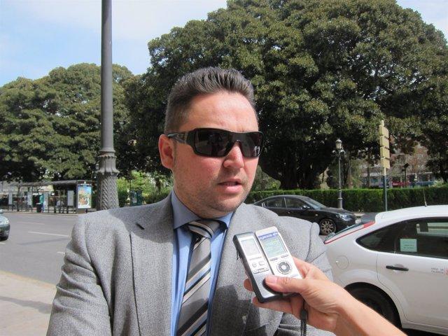 Arturo Tauroni tras salir del TSJCV y conocerse la sentencia del caso Blasco