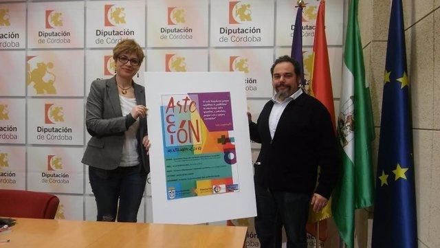 Ruz y Soto, durante la presentación de 'Arte en Acción'