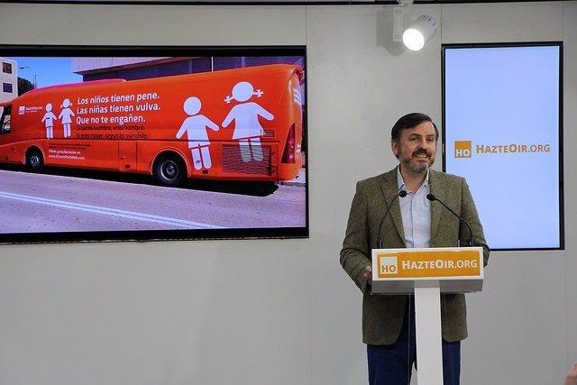 Portavoz de Hazte Oír, Ignacio Arsuaga
