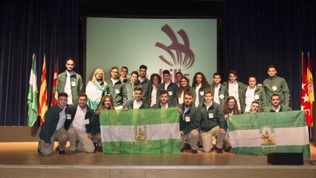 Representantes andaluces en 'Spainskills 2017'
