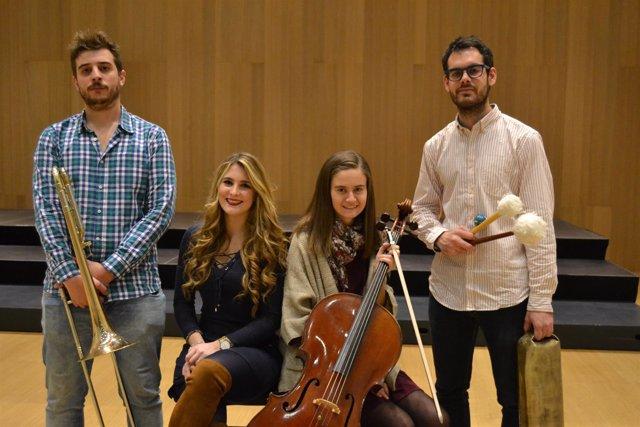 Interpretes del concierto del ciclo 'Jóvenes Intérpretes CSMN 2017'