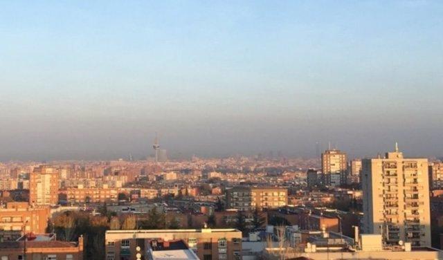 Contaminación en la ciudad de Madrid