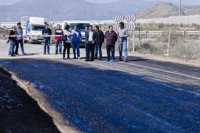 Balanegra contará con dos nuevos accesos a la Autovía A-7 con estas obras.