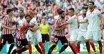 El Sevilla quiere seguir en la carrera liguera ante un Athletic débil a...