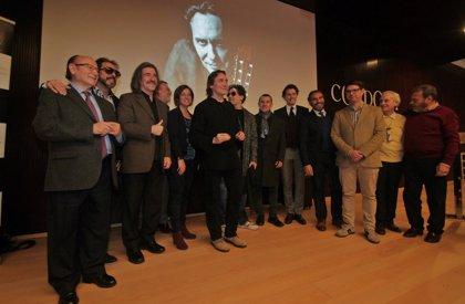 Vicente Amigo presenta su último disco, 'Memoria de los sentidos', junto a amigos y responsables políticos