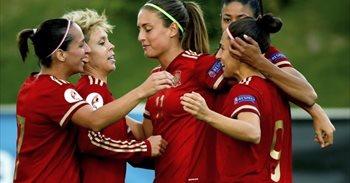 La selección española femenina vence a Japón en su estreno en la Copa del...