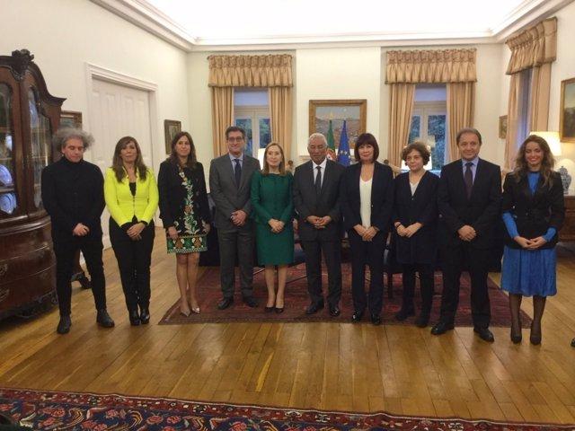La Mesa del Congreso visita Portugal