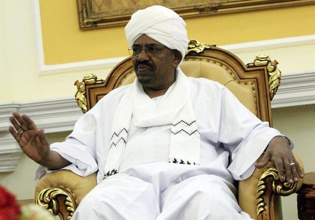 Al Bashir, presidente de Sudán