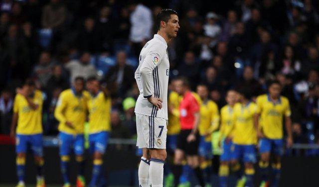 Cristiano Ronaldo tras empatar con Las Palmas